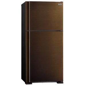Tủ lạnh MITSUBISHI F62EHBRW 510L màu nâu