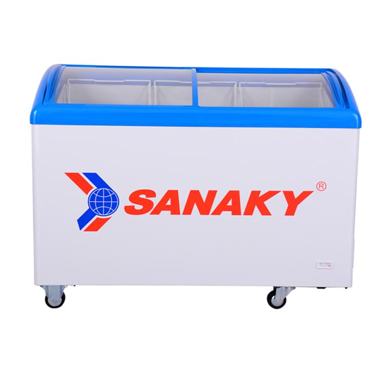 Tủ đông mặt kính SANAKY VH482K 1 ngăn 340L