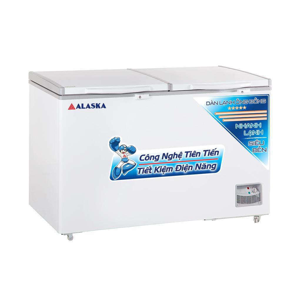 TỦ ĐÔNG DÀN LẠNH ĐỒNG ALASKA HB550C 550L
