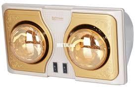 Đèn sưởi nhà tắm Kottman K2B bóng vàng